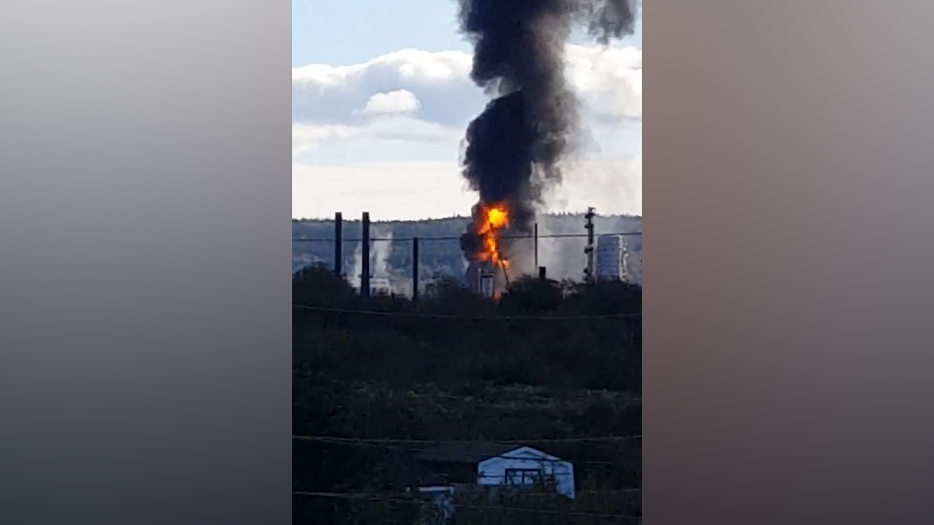 Reported explosion at oil refinery in Saint John, NB