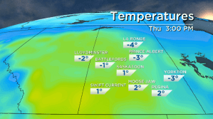 Saskatoon weather outlook: first above freezing days of December