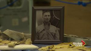 Family given memento decades after Canadian naval pilot's death