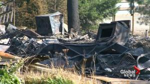 Fires continue to burn in Rock Creek, B.C., destroying homes