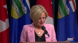 Rachel Notley says she is focused on 'one goal' – building a pipeline