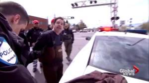 Quebec floods: Resident arrested during flood relief efforts to remain behind bars