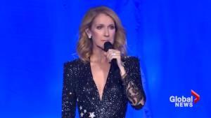 Celine Dion pledges support to Las Vegas victims' families