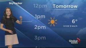 BC Evening Weather Forecast: Dec 1