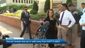 Should Canada walk away from the NAFTA talks?