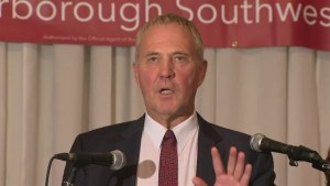 Federal Election 2015: Bill Blair gives victory speech after winning Scarborough riding