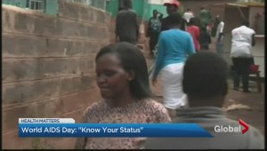 "World AIDS Day: ""Know Your Status"""