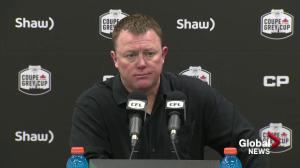 Chris Jones on the Riders being 1 win away from playing in the Grey Cup