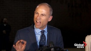 Michael Avenatti mum on status of restraining order against him