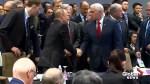Mike Pence, John Bolton warmly greet Vladimir Putin at ASEAN Summit