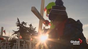 'I can never imagine myself doing that': Calgary students honour Alberta's veterans