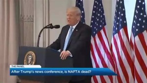 Is NAFTA dead in the water?
