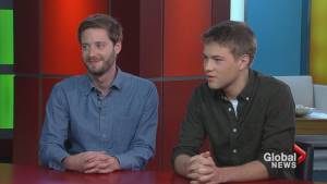 "Actor Connor Jessup and Director Stephen Dunn on film, ""Closet Monster"""