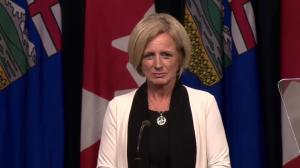 Decision to pull out of federal climate plan 'sends a strong message': Alberta premier