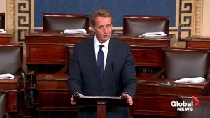 U.S. 'not immune' to authoritarianism: Jeff Flake
