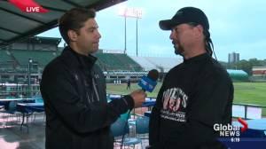 '55 guys and 1 girl': Edmontonians hope to break record for world's longest baseball game