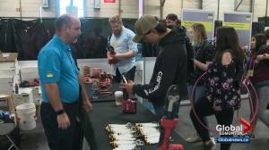 Northern Alberta students get first-hand experience in the trades