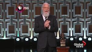 David Letterman receives Mark Twain Prize for American Humor