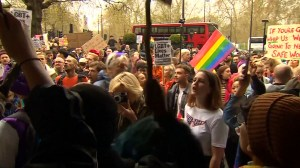 Hundreds protest in London, U.K. over Brunei's anti-gay Sharia laws