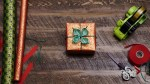 How to add a rope flower to wrapped gifts