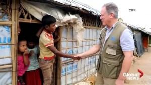 Head of World Food Program raises 'extreme concerns' about Rohingya returning to Myanmar
