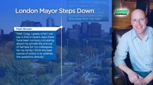London, Ont. Mayor Matt Brown confirms 'inappropriate' relationship with deputy mayor (02:22)