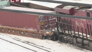 CP Rail trains derail in southeast Calgary
