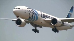 Body part, seats and suitcases from EgyptAir flight found in water, say officials