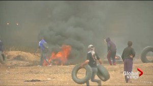 Two Palestinians dead in Israel-Gaza border clashes
