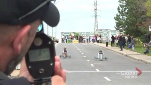 Speed and thrills at Dorval Soap Box Derby