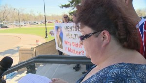 Sask. mother pushes for increased mental healthcare after losing her son