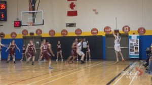 'Best night of my life': N.B. teen with cerebral palsy shines in high school basketball game