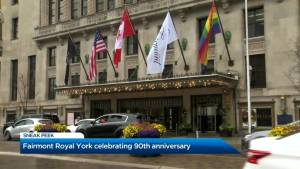 Celebrating the 90th anniversary of the Fairmont Royal York