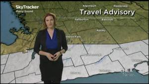 Icy conditions expected Wednesday in Peterborough area