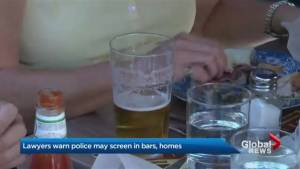 Lawyers warn of possible breath tests by police at bars, home