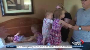 Parents talk about what it's like raising quadruplets