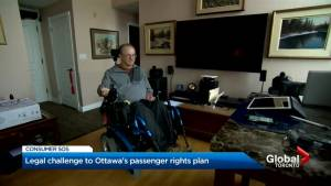 Disability rights advocates challenge new air travel rules