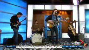 The Barr Brothers perform on The Morning Show