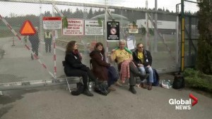 Multiple arrests made at Kinder Morgan facility protest