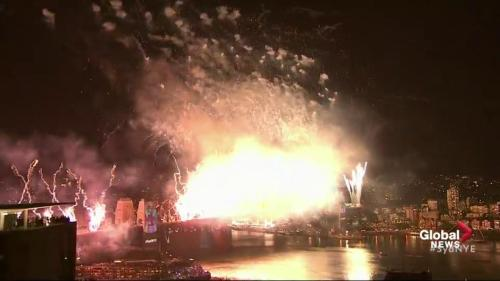 New Year S 2019 Celebrated With Massive Sydney Fireworks Display