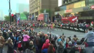 Thousands lace up for Montreal marathon