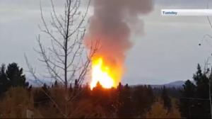 Evacuees return home after pipeline explosion near Prince George, B.C.