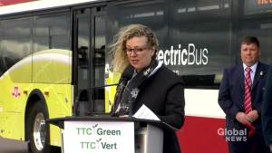 TTC launches its first ever all-electric bus to Toronto roads