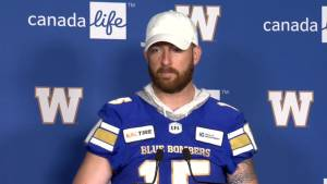 RAW: Blue Bombers Matt Nichols – June 26