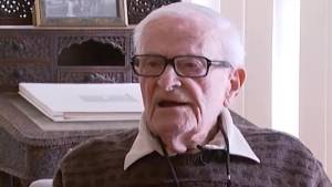 95 year-old war vet and twitter sensation in Belleville hospital