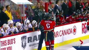 Dennis Wideman suspended 20 games for hitting linesman