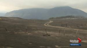 Weather helping to push back Kenow Mountain wildfire