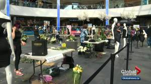 Floral showdown taking place at West Edmonton Mall