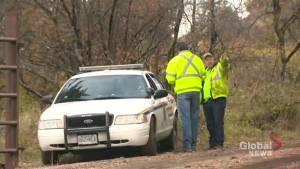Police block public access to small plane crash debris field east of Winfield, B.C.