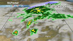 Saskatoon weather outlook: rain, snow and a risk of storms
